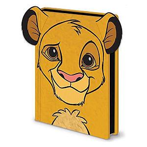 Lion King Simba Furry Notebook