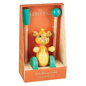 Lion King Simba Push Along Toy