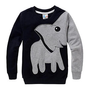 Little Boys Elephant Sweater