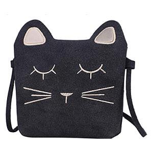 Little Girls Cat Shoulder Bag