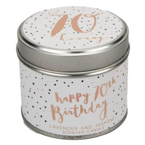 Luxe 70th Gift Scented Candle