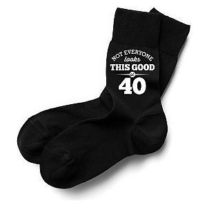 Men's 40th Birthday Fun Socks