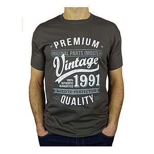 Men's Funny Vintage Aged to Perfect T-Shirt