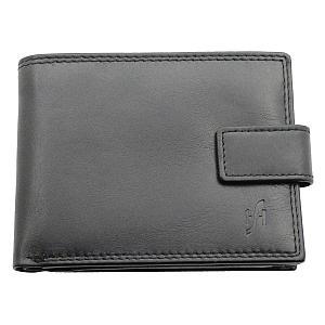 Mens RFID Blocking Leather Wallet