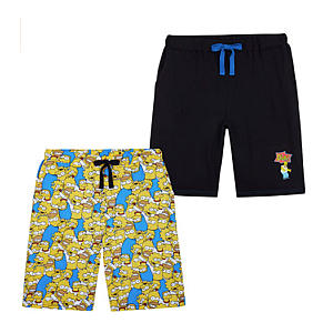 Men's The Simpsons Shorts 2 Pairs