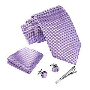 Men's Tie, Cufflinks And Handkerchief Set