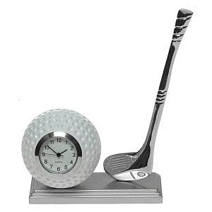 Miniature Golf Desk Clock