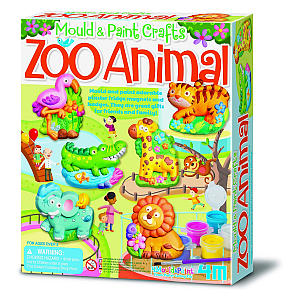Mold And Paint Zoo Animals