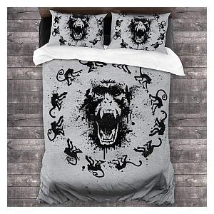 Monkey Fever Bedding Set