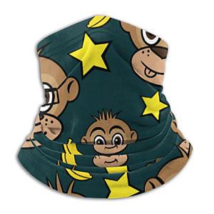 Monkey Fleece Neck Warmer