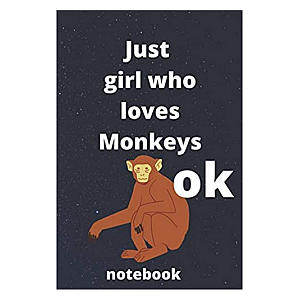 Monkey Lover Notebook
