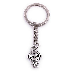 Monkey Silver Keyring