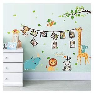 Monkey Tree Removable Wall Sticker Photo Frame