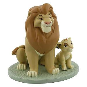 Mufasa & Simba Lion King Keepsake Figurine