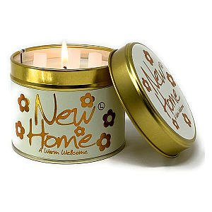 New Home Scented Tin Candle