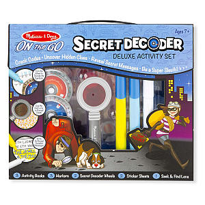On the Go Secret Decoder