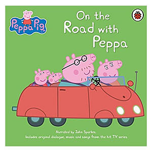 On the Road with Peppa Audio CD