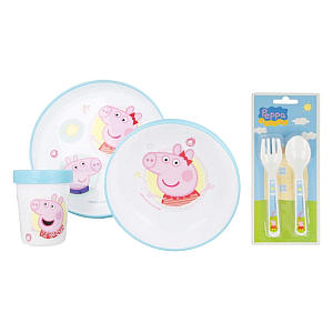 Peppa Pig Premium Dinnerware Set