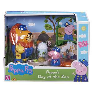 Peppa Pig Zoo Leo The Lion Set