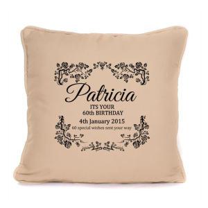 Personalised Birthday Cushion