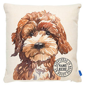 Personalised Cockapoo Dog Cushion
