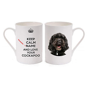 Personalised Cockapoo Dog Mug