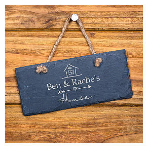 Personalised House Name Plaque