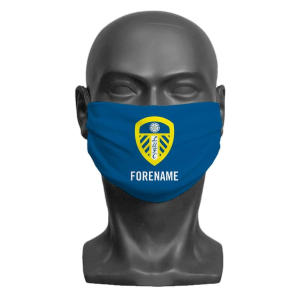 Personalised LUFC Face Mask