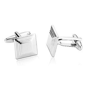 Personalised Stainless Steel Cufflinks