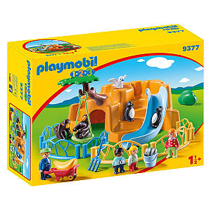 Playmobil Zoo With Penguin Enclosure
