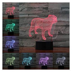 Pug 3D Lamp