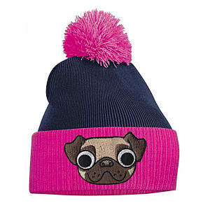 Pug Bobble Hat