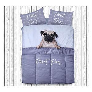 Pug Design Duvet Cover Quilt