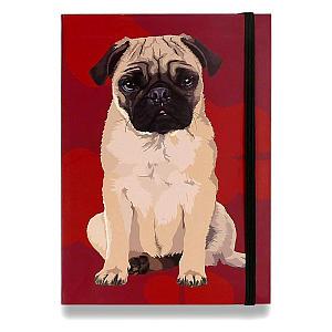 Pug Pocket Notebook