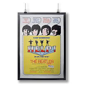 Retro Beatles Poster