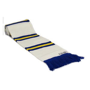 Retro Style Leeds Supporters Scarf