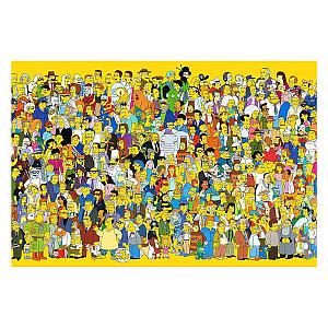 Simpson Wooden Adult Puzzle