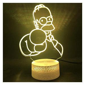 Simpsons 3D LED Lamp