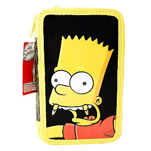 Simpsons Filled Pencil Case