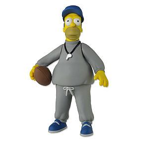 Simpsons Homer Coach Action Figure