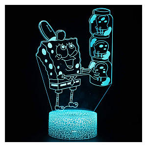SpongeBob Squarepants 3D Illusion Night Light