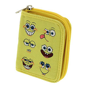 SpongeBob Squarepants Multi Face Wallet