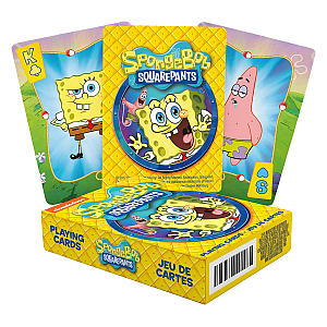 SpongeBob Squarepants Set Of Playing Cards