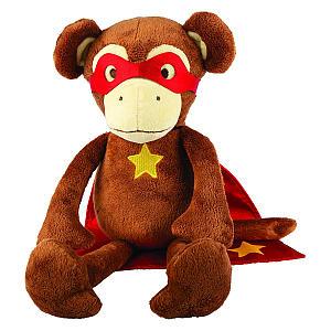 Super Hero Monkey Plush Toy