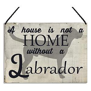 Sweet Labrador Metal Sign