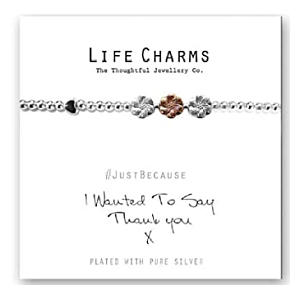 Thank You Charm Bracelet