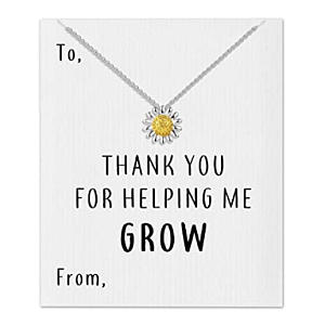 Thank You Daisy Necklace
