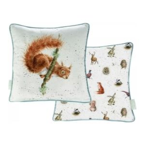 The Acrobat Squirrel Cushion