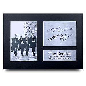 The Beatles Autograph Photo