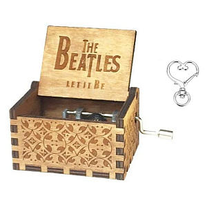 The Beatles Wooden Music Box